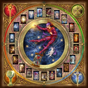 cartas tarot mistico dibujo